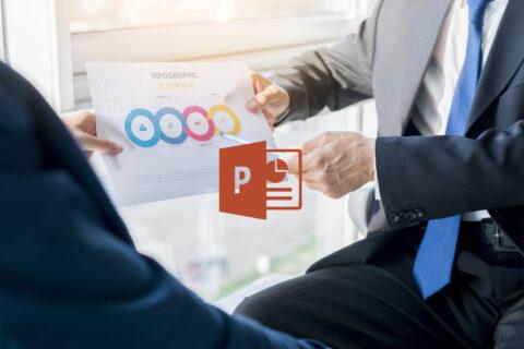 Belajar Membuat Bahan Presentasi dan Infografis Menggunakan Microsoft Power Point untuk Menjadi Operator Komputer